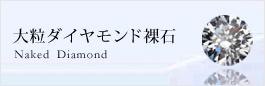 大粒ダイヤモンド裸石