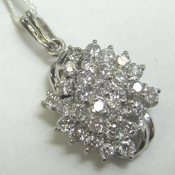 プラチナ900製 ダイヤモンドペンダント